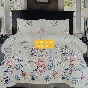 Comforter Set Cotton Size Twin 3 pieces